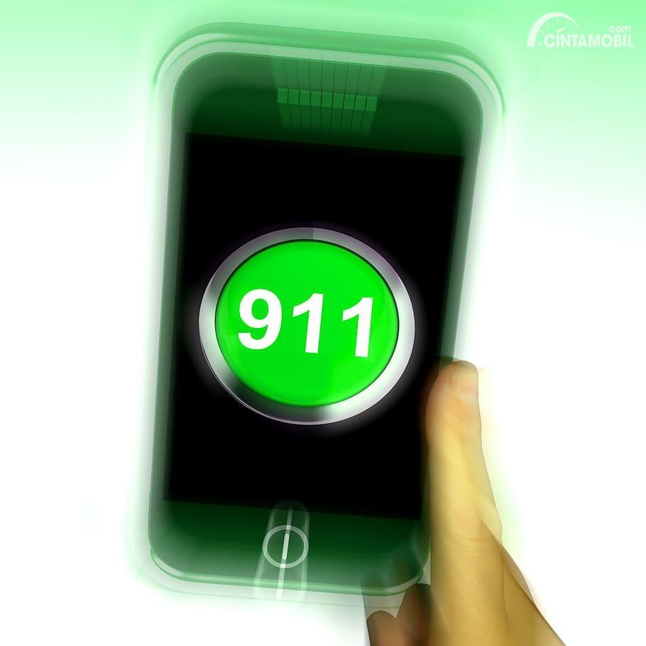 Gambar ilustrasi Emergency Call 911