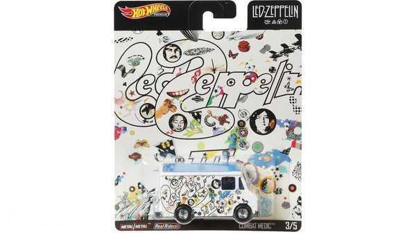 Foto Hot Wheels White Van Led Zeppelin Edition