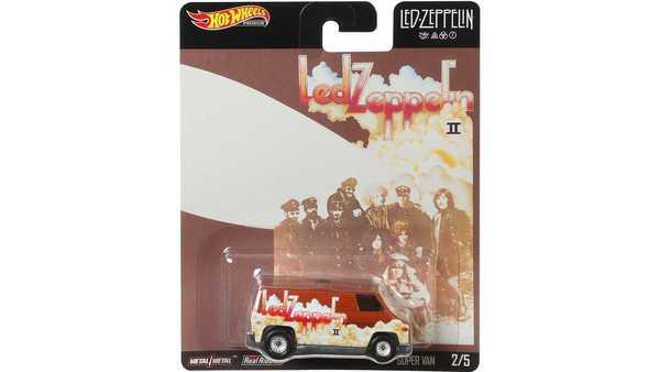 Foto Hot Wheels Super Van Led Zeppeling Edition