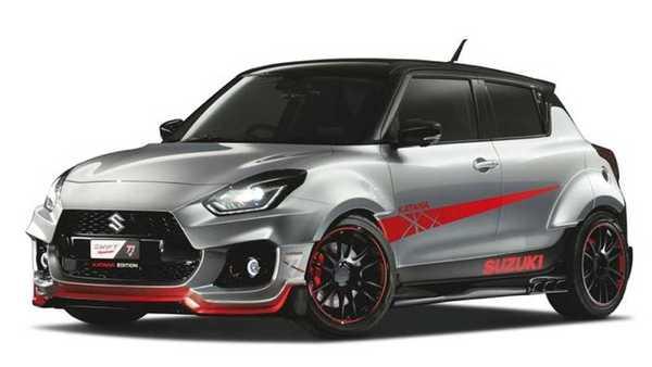 Tiga Mobil Modifikasi Suzuki Hadir di Tokyo Auto Salon 2019