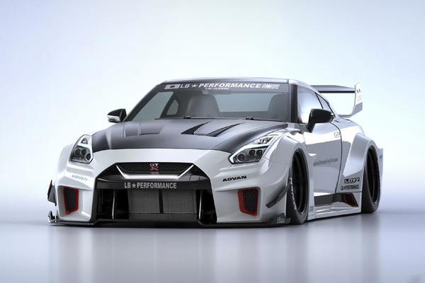 Body Kit Liberty Walk Terbaru untuk Nissan GT-R ini Ditawarkan dengan Harga Fantastis!