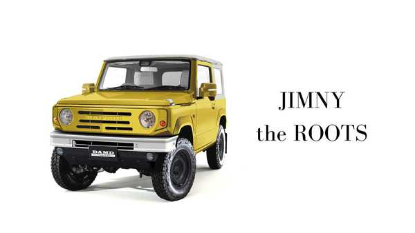Foto modifikasi Suzuki Jimny The Roots by DAMD