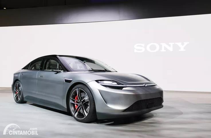 Konsep Mobil Listrik Sony Vision-S Hebohkan CES 2020
