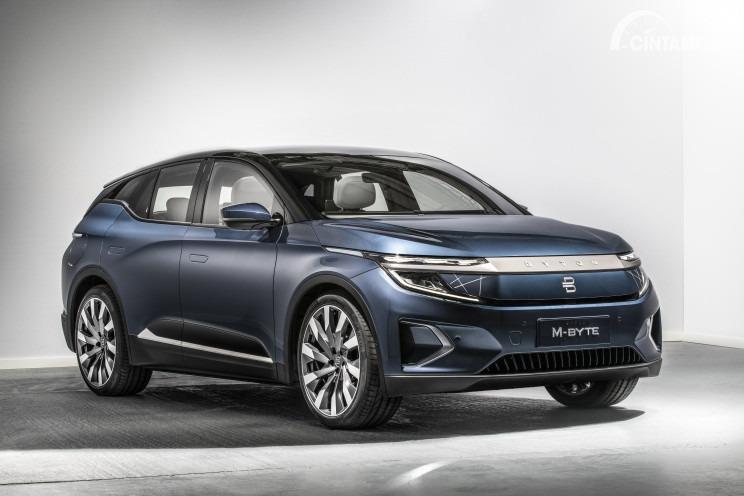 Perkenalkan Lawan Baru TESLA Motors Dari China: BYTON M-Byte Yang Siap Dijual 2020