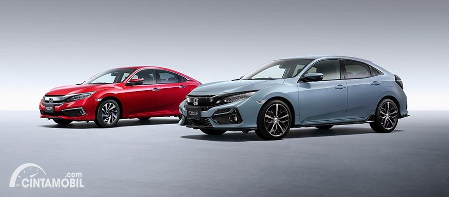 Line-up Honda Civic 2020, sedan dan hatchback