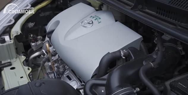 Gambar menunjukkan Mesin dari Toyota Sienta Q CVT 2020 Facelift