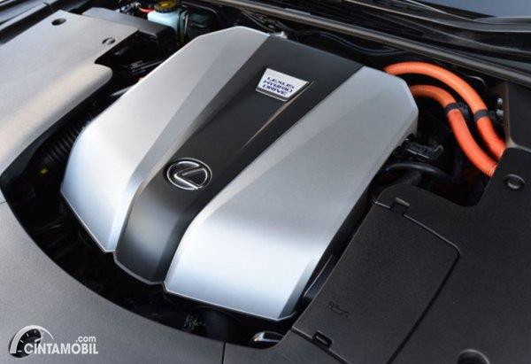 Mesin V6 Hybrid 8GR-FXS yang digunakan oleh Lexus LS500H, dan akan digunakan Land Cruiser Hybrid