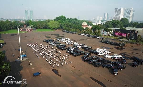 susunan mobil Pajero Indonesia One