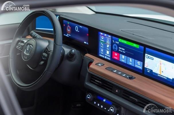 Interior Honda E yang akan dipasarkan musim panas 2020