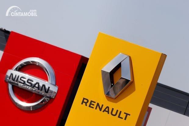 Gambar menunjukan aliansi Renault Nissan