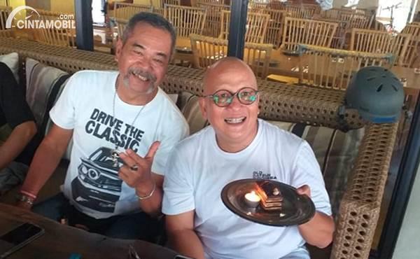 member komunitas Datsun Jakarta yang ulang tahun