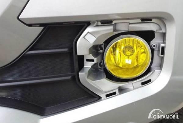 stiker kuning lampu mobil