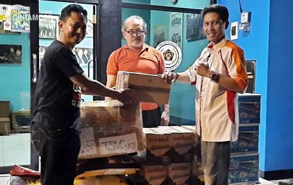 donasi anggota TSVC chapter Bogor