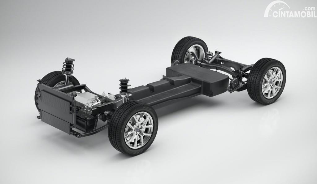 Volvo SPA Platform, yang akan jadi basis mobil listrik pabrikan Swedia itu
