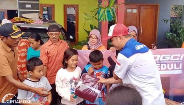 DGCI Chapter Cipasera Salurkan Bantuan untuk Korban Banjir di Lebak Banten