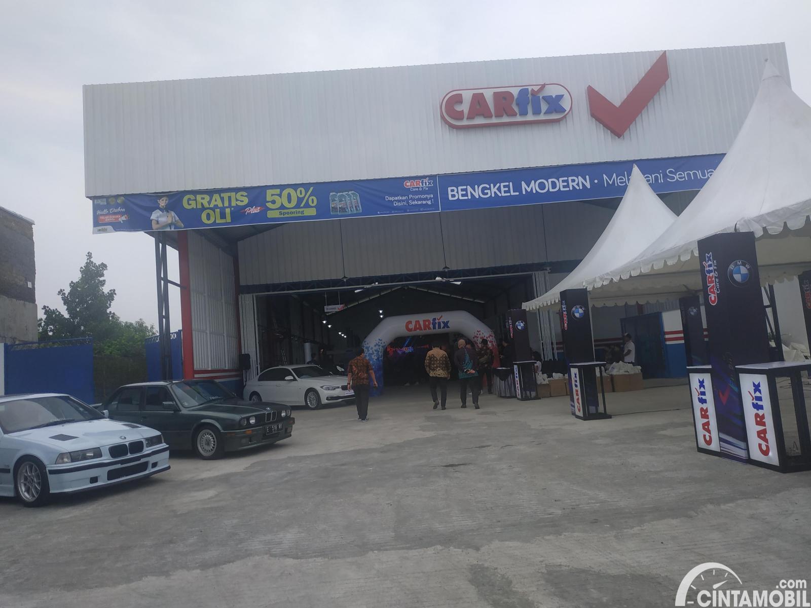 Gambar menunjukan CARfix Cirebon