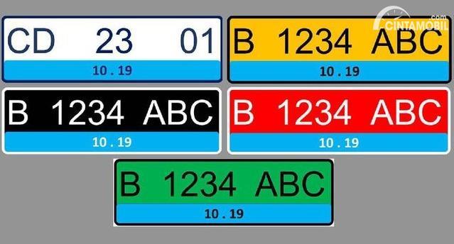 Mobil Listrik Dapat Pelat Nomor Khusus, Begini Tampilannya