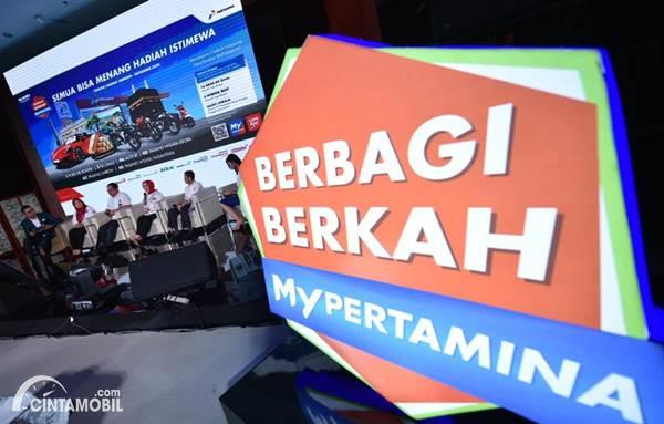 press conference Berbagi Berkah MyPertamina