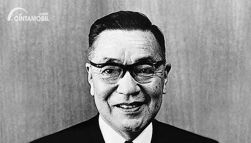 gambar wajah Jujiro Matsuda pendiri Mazda