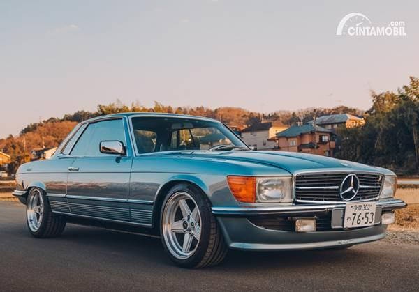 Modifikasi Mercedes-Benz 450 SLC, Semangat JDM di Mobil Eropa