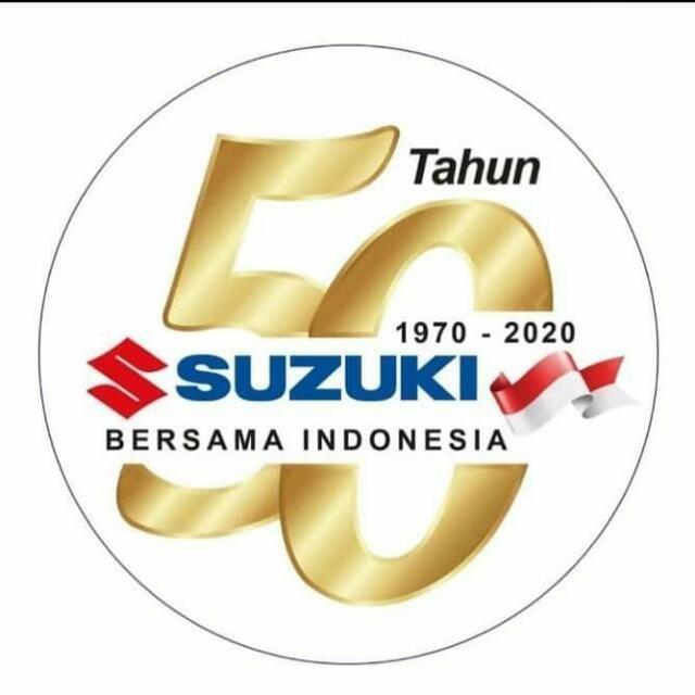 Gambar Logo Ulang Tahun Ke-50 Suzuki Indonesia