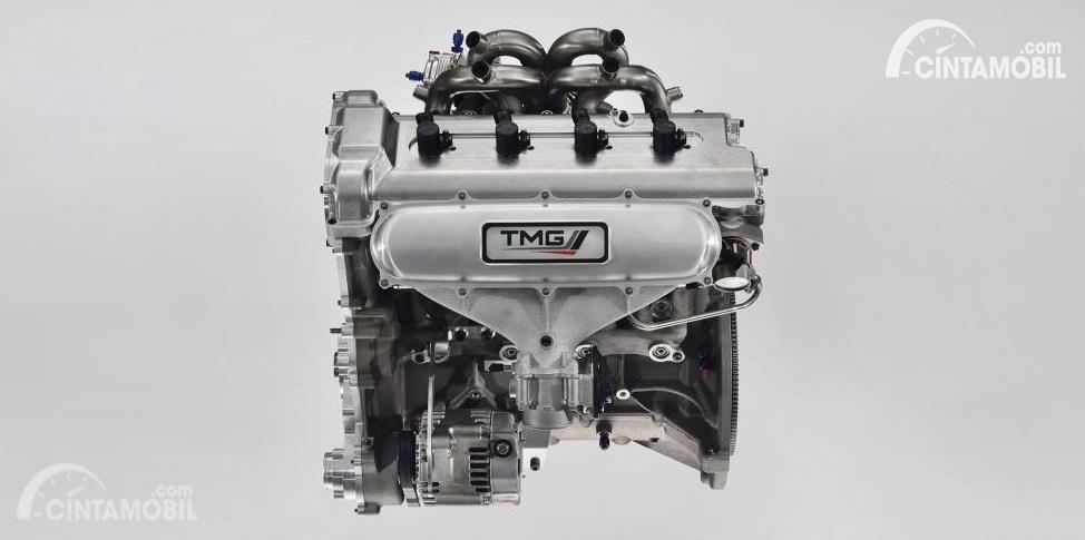 Gambar menunjukkan Mesin Toyota Yaris WRC