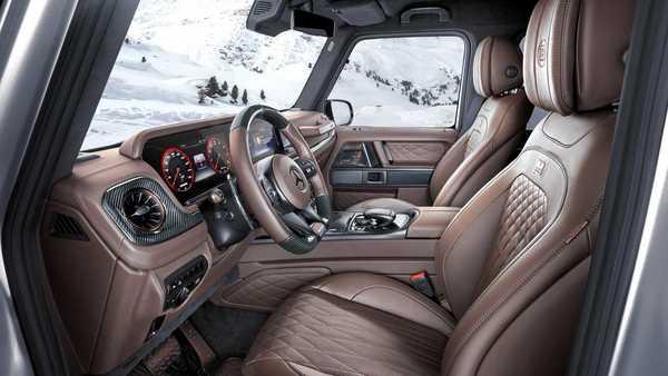 Foto interior Brabus 800 Adventure XLP