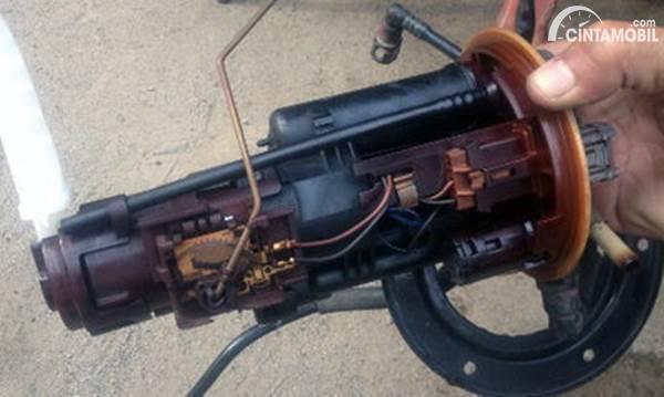 kondisi fuel pump yang kotor