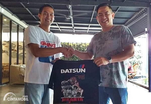 ketua umum komunitas Datsun Jakarta