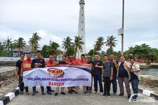 Awal Tahun, FK3O Banten Touring Kuliner