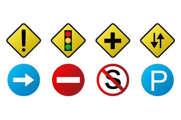 rambu-rambu lalu lintas