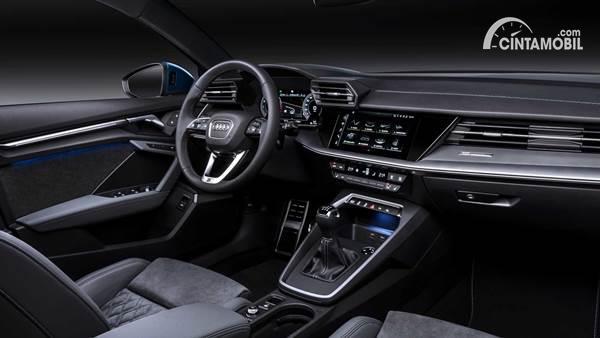 Gambar interior dari mobil Audi A3 Sportback 2020