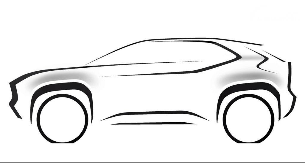 Siluet desain SUV baru Toyota yang akan rilis Maret 2021