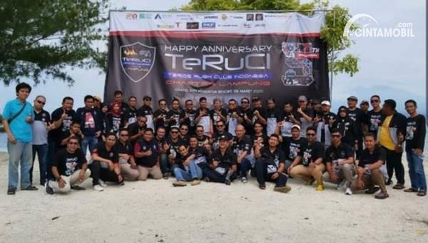 anggota komunitas TeRuCi Lampung
