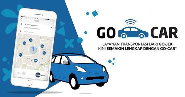 aplikasi GoCar dari Gojek
