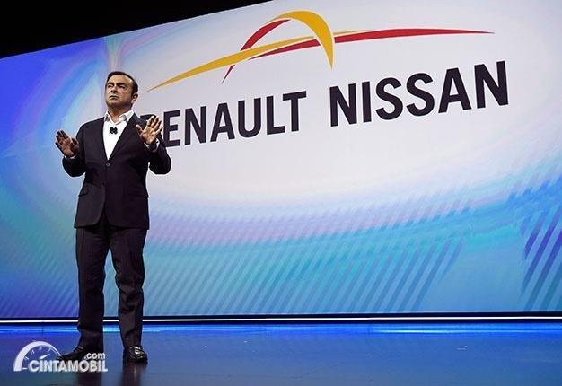 Mantan bos aliansi Nissan-Renault-Mitsubishi, Carlos Ghosn