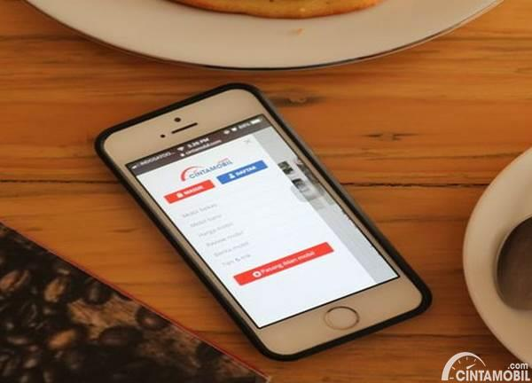 aplikasi mobile Cintamobil.com