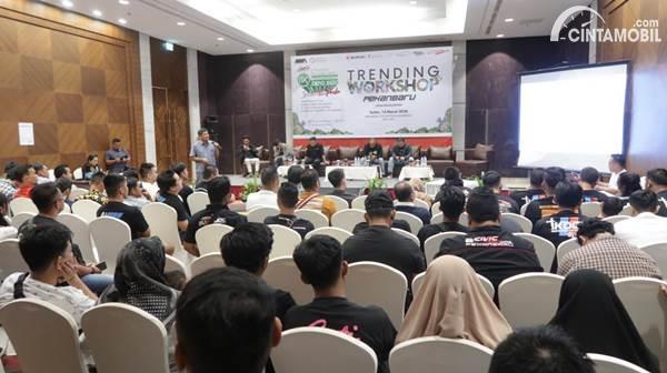 peserta NMAA Trending Workshop Pekanbaru