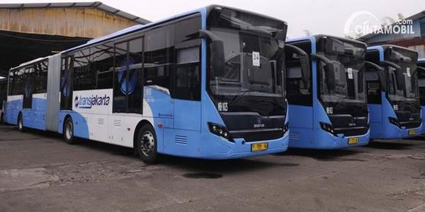 Penumpang Transjakarta Tak Bakal Berdesakan di Dalam Bus, Kok Bisa?