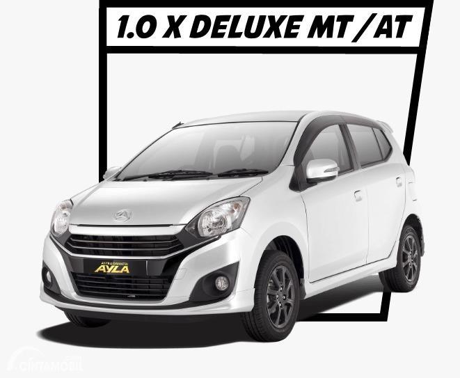 Gambar menunjukkan Daihatsu Ayla 1.0 X Deluxe 2020