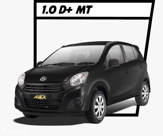 Gambar menunjukkan Daihatsu Ayla 1.0 D+ 2020