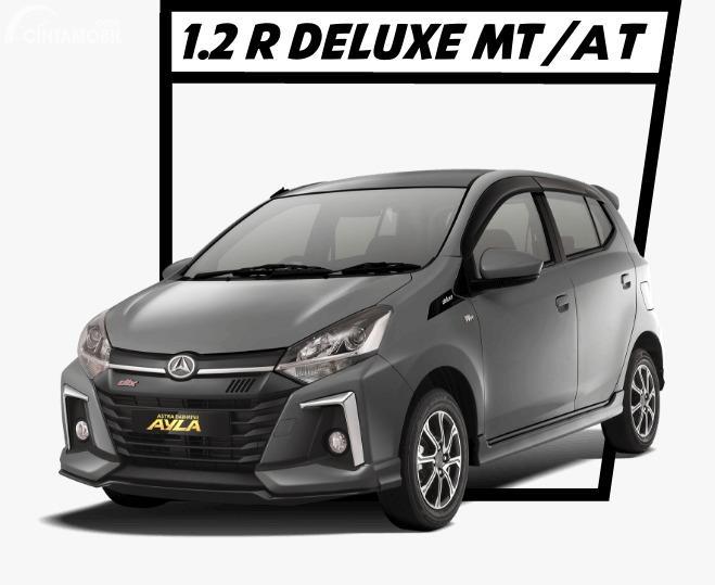 Gambar menunjukkan Daihatsu Ayla 1.2 R Deluxe 2020