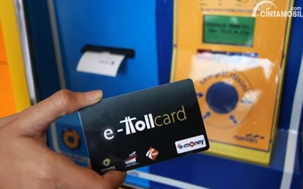 Hindari Virus Corona, Top Up E-Toll di Gerbang Tol Ditiadakan