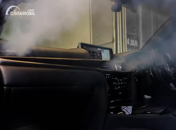 fogging kabin mobil