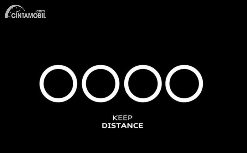 Promosikan Social Distancing, Logo Mobil Mewah Ini Dibuat Terpisah