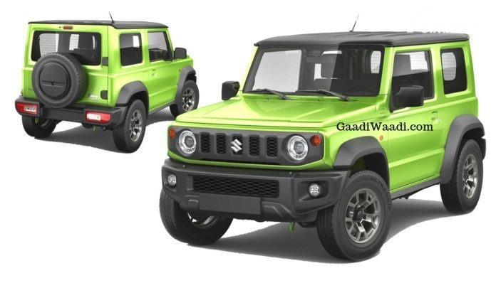 Gambar menunjukkan Suzuki Jimny 4x2