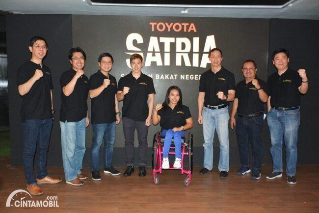Toyota Cari Atlit Berbakat Untuk Olimpiade Tokyo 2020