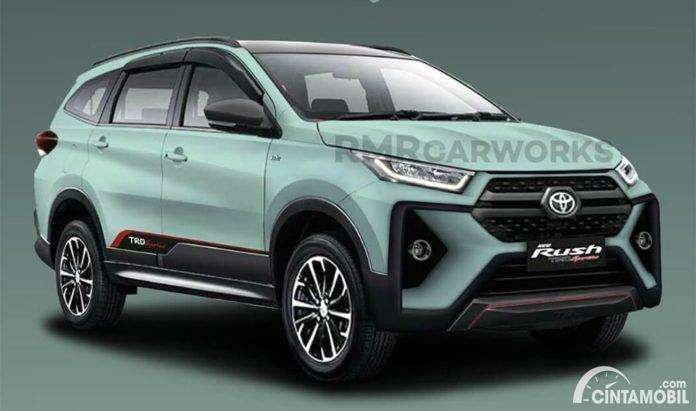 Rendering desain Toyota Rush facelift