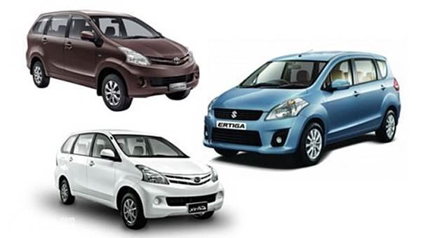Toyota Avanza, Daihatsu Xenia, dan Suzuki Ertiga