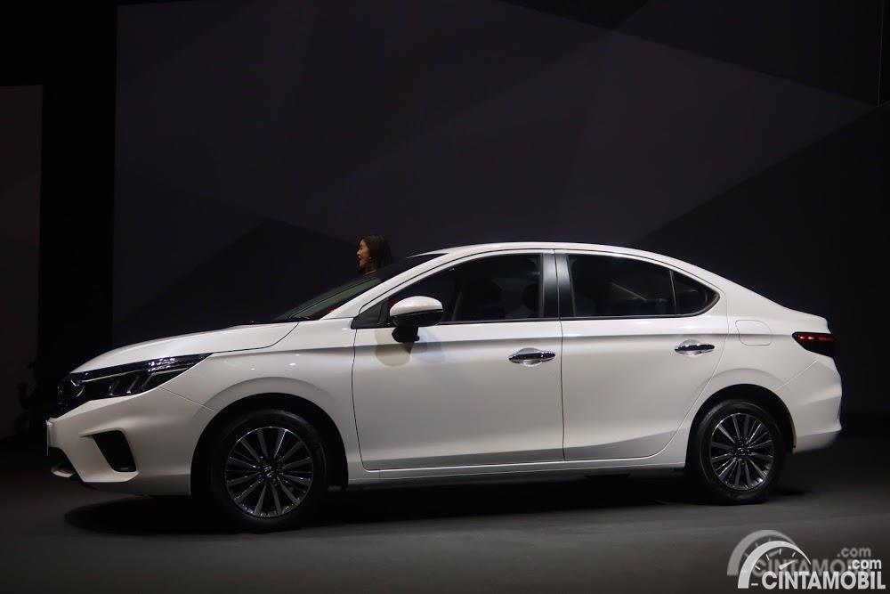 Gambar menunjukkan Honda All New City Thailand